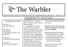 Warbler Newsletter September 2010